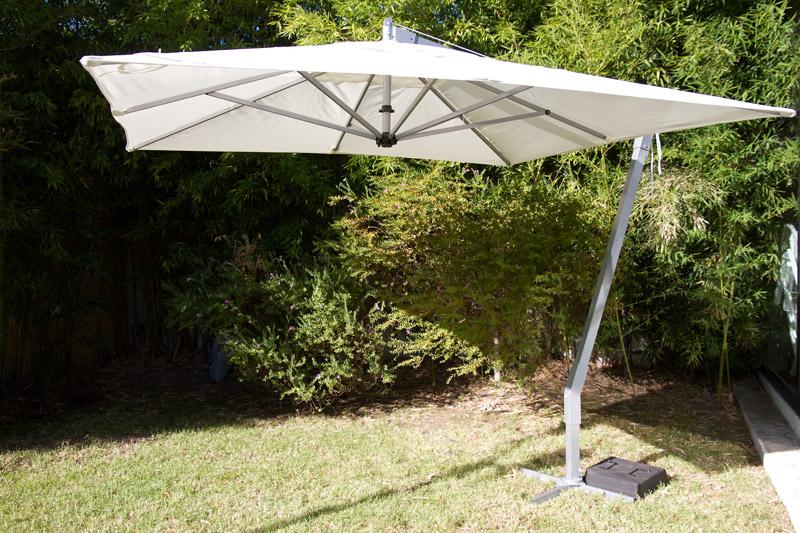 Muebles La Maceta, Lo mejor en muebles de jardin, Parasol Lateral AMALFI