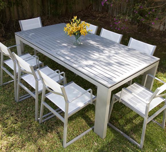 Muebles la maceta lo mejor en muebles de jardin for Muebles jardin aluminio