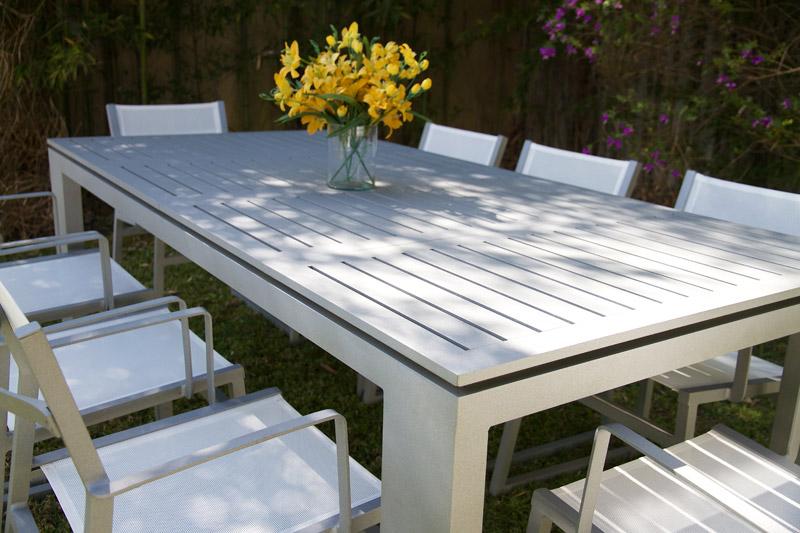 Muebles la maceta lo mejor en muebles de jardin mesa y for Muebles de aluminio para jardin