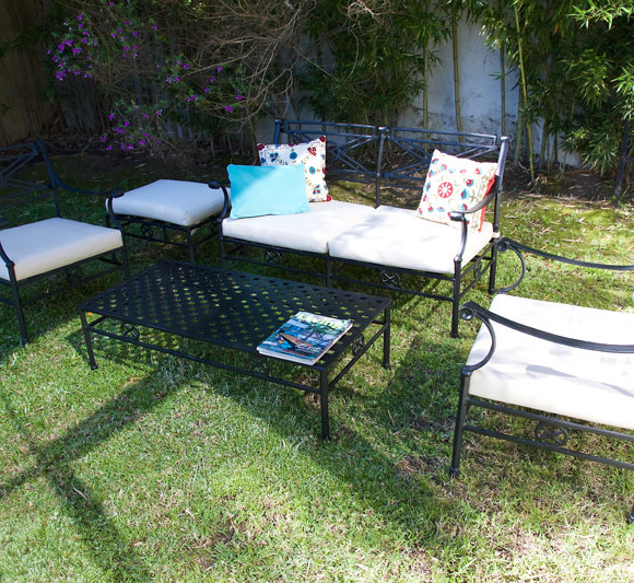 Muebles la maceta lo mejor en muebles de jardin for Aluminio productos de fundicion muebles de jardin