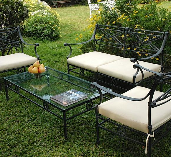 Muebles la maceta lo mejor en muebles de jardin categor as de los productos fundici n de aluminio for Juego de jardin fundicion aluminio