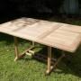 Mesas Extensibles rectangular con sillas Ashley