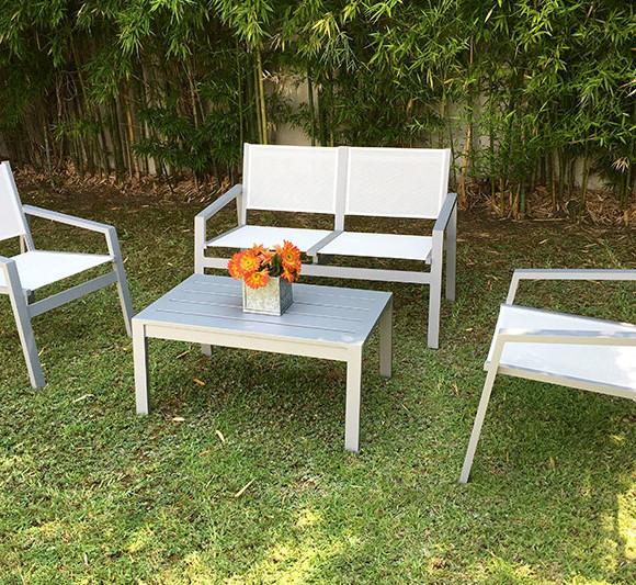 Sillones para jardin exterior muebles de ratan para for Muebles jardin aluminio